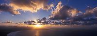 Europe/Espagne/Canaries/Lanzarote : Baie et plage de Famara