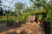"""France, Domaine de Chaumont-sur-Loire, Festival International des Jardins 2018 """"Jardins de la pensée"""", """"le jardin de Proust"""""""