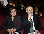 RICCARDO SEGNI CON LA MOGLIE<br /> CELEBRAZIONE DEI 60 ANNI DELLO STATO D'ISRAELE TEATRO DELL'OPERA ROMA 2008