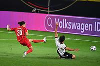 2nd June 2021, Tivoli Stadion, Innsbruck, Austria; International football friendly, Germany versus Denmark;  POULSEN DEN scores the goal for 1-1 despite the tackle from Mats HUMMELS GER