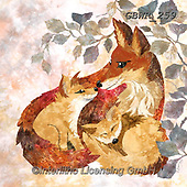 Simon, REALISTIC ANIMALS, REALISTISCHE TIERE, ANIMALES REALISTICOS,fox, paintings+++++,GBWR259,#a#, EVERYDAY