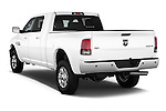 Car pictures of rear three quarter view of a 2015 Ram 2500 Laramie 4 Door Truck angular rear