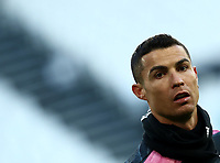 Calcio, Serie A: Juventus - Bologna, Turin, Allianz Stadium, January 24, 2021.<br /> Juventus' Cristiano Ronaldo during the warm up prior to the Italian Serie A football match between Juventus and Bologna at the Allianz stadium in Turin, January 24, 2021.<br /> UPDATE IMAGES PRESS/Isabella Bonotto