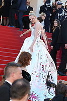ELLE FANNING - RED CARPET OF THE OPENING CEREMONY AND OF THE FILM 'LES FANTOMES D'ISMAEL' AT THE 70TH FESTIVAL OF CANNES 2017