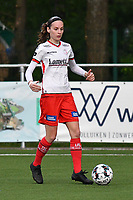 Sheryl Merchiers (11) of Zulte Waregem pictured during a female soccer game between  Racing Genk Ladies and SV Zulte-Waregem on the 7 th matchday of play off 2 in the 2020 - 2021 season of Belgian Scooore Womens Super League , friday 14 th of May 2021  in Genk , Belgium . PHOTO SPORTPIX.BE   SPP   JILL DELSAUX