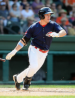 Infielder Drew Hedman (47) of the Greenville Drive, Class A affiliate of the Boston Red Sox, in a game against the Asheville Tourists on May 1, 2011, at Fluor Field at the West End in Greenville, S.C. Photo by Tom Priddy / Four Seam Images