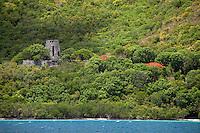 Annaberg Ruins, St. John.Virgin Islands National Park.U.S. Virgin Islands