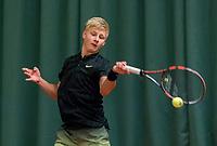 Wateringen, The Netherlands, March 16, 2018,  De Rhijenhof , NOJK 14/18 years, Nat. Junior Tennis Champ.  Max Houkes (NED)<br />  Photo: www.tennisimages.com/Henk Koster