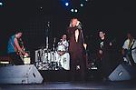 Chris Spedding performing with Robin Zander, Rick Nielson, Bun E. Carlos & Jon Brant of Cheap Trick 1986