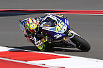 Valentino Rossi (46) in action during the Red Bull MotoGP of the Americas practice session at Circuit of the Americas racetrack in Austin,Texas. ..