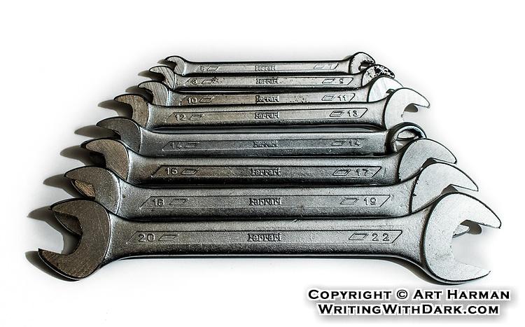"""Portrait of rare Ferrari Tools"" by Art Harman"