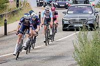 breakaway group led by Oscar Riesebeek (NED/Alpecin-Fenix)<br /> <br /> Heylen Vastgoed Heistse Pijl 2021 (BEL)<br /> One day race from Vosselaar to Heist-op-den-Berg (BEL/193km)<br /> <br /> ©kramon