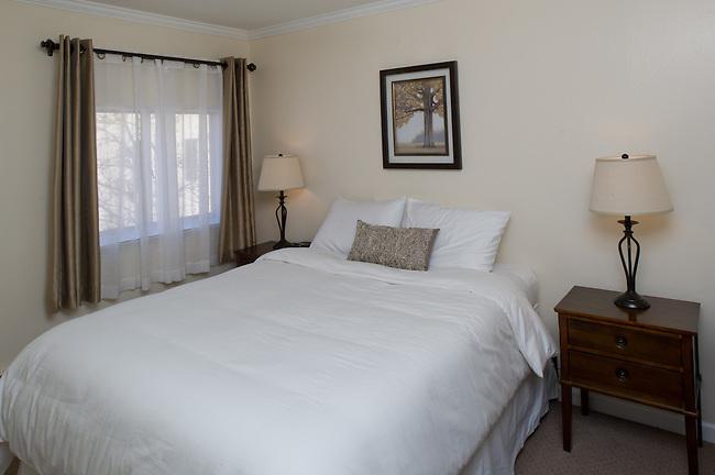 Interiors of rooms at Duke's 8th Ave Hotel Anchorage, Alaska.