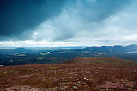 The Cairngorm National Park from Creag Dhubh, Cairngorm National Park, Badenoch and Speyside