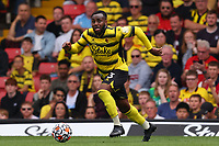 11th September 2021; Vicarge Road, Watford, Herts,  England;  Premier League football, Watford versus Wolverhampton Wanderers; Danny Rose of Watford