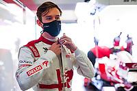 30th April 2021; Algarve International Circuit, in Portimao, Portugal; F1 Grand Prix of Portugal, Free practise:  ILOTT Callum (gbr), Alfa Romeo Racing ORLEN