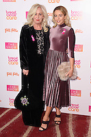 Debbie and Lydia Bright<br /> at the Breast Cancer Care fashion Show 2016, London.<br /> <br /> <br /> ©Ash Knotek  D3193  02/11/2016
