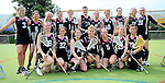 GER - Hannover, Germany, May 31: During the Women Lacrosse Playoffs 2015 match between SC 1880 Frankfurt (red) and KIT SC Karlsruhe (black) on May 31, 2015 at Deutscher Hockey-Club Hannover e.V. in Hannover, Germany. Final score 8:11. (Photo by Dirk Markgraf / www.265-images.com) *** Local caption ***