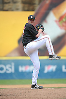 University of Louisville Cardinals pitcher Josh Rogers (13) during a game against the Temple University Owls at Campbell's Field on May 10, 2014 in Camden, New Jersey. Temple defeated Louisville 4-2.  (Tomasso DeRosa/ Four Seam Images)