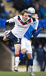 St Johnstone v Rangers...14.01.12  .Sasa Papac and Marcus Haber.Picture by Graeme Hart..Copyright Perthshire Picture Agency.Tel: 01738 623350  Mobile: 07990 594431