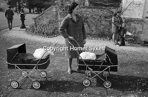 Ladys Day March 25th, Distribution of the Tichborne Dole. Tichborne Hampshire. England 1974