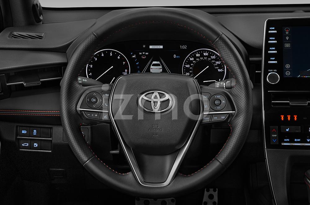 Car pictures of steering wheel view of a 2020 Toyota Avalon TRD 4 Door Sedan Steering Wheel
