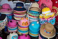 Women's and Children's Hats for Sale, Melaka, Malaysia.