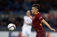 Calcio, Europa League, Gguppo E: Roma vs Austria Vienna. Roma, stadio Olimpico, 20 ottobre 2016.<br /> Roma's Stephan El Shaarawy in action during the Europa League Group E soccer match between Roma and Austria Wien, at Rome's Olympic stadium, 20 October 2016. The game ended 3-3.<br /> UPDATE IMAGES PRESS/Isabella Bonotto