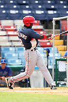 Washington Nationals shortstop Deion Williams #8 during an Instructional League game against the national team from Italy at Holman Stadium on September 29, 2011 in Vero Beach, Florida.  (Mike Janes/Four Seam Images)