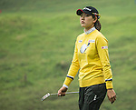 Jung Min Lee of South Korea walks on the course at 13th hole during Round 3 of the World Ladies Championship 2016 on 12 March 2016 at Mission Hills Olazabal Golf Course in Dongguan, China. Photo by Lucas Schifres / Power Sport Images