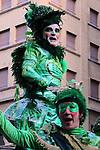Carnaval de Barcelona 2015.<br /> El Sarau de la Taronjada de Carnaval.