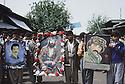 Irak 1992<br /> Une célébration dans Halabja en souvenir des peshmergas tombés au combat<br /> Iraq 1992<br /> Celebration in Halabja with portraits of peshmergas killed during the armed struggle