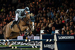 Henrik von Eckermann of Germany rides Gotha FRH in action during the Longines Grand Prix as part of the Longines Hong Kong Masters on 15 February 2015, at the Asia World Expo, outskirts Hong Kong, China. Photo by Victor Fraile / Power Sport Images