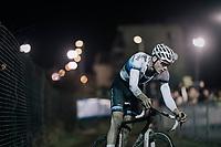 Mathieu van der Poel (NED/Beobank-Corendon)<br /> <br /> Elite Men's Race<br /> Superprestige Diegem / Belgium 2017