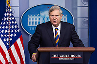Agriculture Secretary Tom Vilsack speaks to the media about food and nutrition security in the White House Press briefing Room in Washington, DC, USA, 05 May 2021.United States Secretary of Agriculture Tom Vilsack speaks to the media about food and nutrition security in the White House Press briefing Room in Washington, DC, USA, 05 May 2021.<br /> Credit: Jim LoScalzo / Pool via CNP/AdMedia
