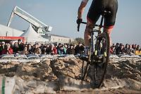 fans enjoying the spetacle<br /> <br /> Elite Men's Race<br /> Soudal Jaarmarktcross Niel 2016
