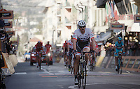 Fabian Cancellara (SUI/TREK Factory Racing) finishing his very last 'Classicissima' a disappointing 31st<br /> <br /> 107th Milano-Sanremo 2016