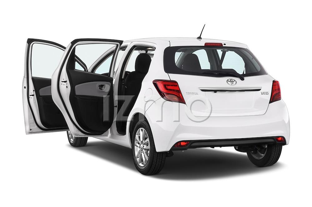 Car images of a 2015 Toyota YARIS Dynamic 5 Door Hatchback 2WD Doors