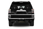 Straight rear view of a 2a015 Toyota 4Runner Limited 5 Door SUV stock images