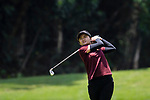 Mookharin Ladgratok of Thailand in action during the first round of the EFG Hong Kong Ladies Open at the Hong Kong Golf Club Old Course on May 11, 2018 in Hong Kong. Photo by Marcio Rodrigo Machado / Power Sport Images