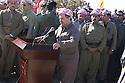 Iraq 2011.Ceremory for the bodies of Barzani killed by PUK brought to Jajok near Barzan: speech of Masoud Barzani.Irak 2011.Ceremonie a Jajok pres de Barzan du rapatriement des corps des Barzani tues par l'UPK: discours de Masoud Barzani