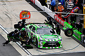 NASCAR XFINITY Series<br /> Use Your Melon Drive Sober 200<br /> Dover International Speedway, Dover, DE USA<br /> Saturday 30 September 2017<br /> Daniel Suarez, Interstate Batteries Toyota Camry makes a pit stop<br /> World Copyright: Logan Whitton<br /> LAT Images