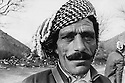 Iraq 1974 <br /> The resumption of hostilities, portrait of a peshmerga  <br /> Irak 1974 <br /> La reprise de la lutte armée, portrait d'un peshmerga