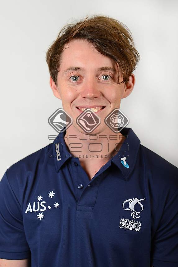 Toby Kane / Athlete<br /> Australian Paralympic Committee<br /> 2014 Sochi Paralympic Games<br /> (Games Processing)<br /> Melbourne VIC April 2013<br /> © Sport the library / Jeff Crow