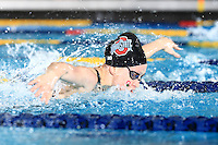 The Ohio State University women's swimming and diving team compete on the second day of the 2016 Women's Swimming and Diving Big Ten Championship.