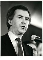Joe Clark le 12 fevrier 1979<br /> <br /> PHOTO : agence quebec presse