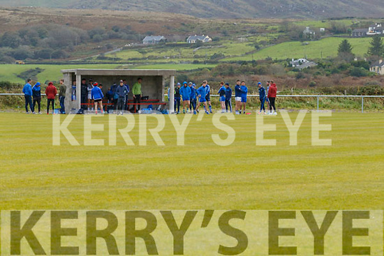 The St Marys side who turned up to the Cancelled South Kerry Championship Final on Sunday in Waterville with growing controversy on the South Kerry Board's decision to cancel the event.