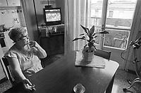 - Milano, il complesso di case popolari Iacp di via Emilio Bianchi, periferia nord della città, degradato ed ad alto tasso di abusivismo e criminalità (Giugno 1992)<br /> <br /> - Milan, the Iacp social housing district in via Emilio Bianchi, northern outskirts of the city, degraded and with a high rate of illegal occupation and crime (June 1992)