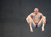 Russia's Evgenii Kuznetsov competes in the Men's 3m Springboard Semifinal B<br /> <br /> Photographer Hannah Fountain/CameraSport<br /> <br /> FINA/CNSG Diving World Series 2019 - Day 2 - Saturday 18th May 2019 - London Aquatics Centre - Queen Elizabeth Olympic Park - London<br /> <br /> World Copyright © 2019 CameraSport. All rights reserved. 43 Linden Ave. Countesthorpe. Leicester. England. LE8 5PG - Tel: +44 (0) 116 277 4147 - admin@camerasport.com - www.camerasport.com