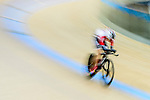 Fong Cheuk Shan of team SCAA during the Track Cycling Race 2016-17 Series 3 at the Hong Kong Velodrome on February 4, 2017 in Hong Kong, China. Photo by Marcio Rodrigo Machado / Power Sport Images